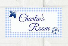 Beautiful Door Plaque Boys Room Bedroom Birthday Sign Present