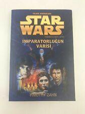 STAR WARS HEIR TO THE EMPIRE THRAWN TRILOGY - Turkish Novel - 2006 - T ZAHN