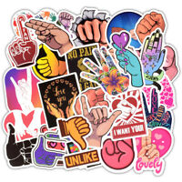 50x Gesture Style Skateboard Stickers Bomb Laptop Luggage Decals Dope Sticker