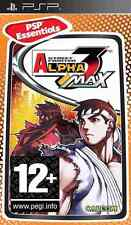 STREET FIGHTER ALPHA 3 MAX PSP NUOVO EDIZIONE ESSENTIALS VERSIONE PAL UMD SONY