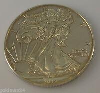 USA 1 Dollar - American Eagle Silbermünze 2012 1oz. 1 Unze 999/1000 Fine Silver