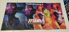 Dark Multiverse Judas Contract #1 Artgerm Teen Titans Raven Starfire Set | NM-