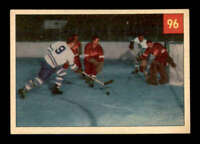 1954 Parkhurst #96 Terry Sawchuk/Ted Kennedy IA EX+ X1610716