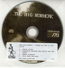 (DD197) The Big Nowhere, Things We Lost In The Flood - 2009 Ltd Ed DJ CD