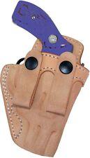 Leather IWB Holster - Small Revolver S&W Model 642 J Frame / Ruger SP101  (#500)
