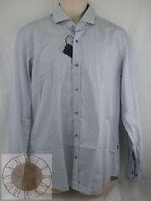 Hugo Boss Mens Striped Button Down Shirt Size L (50253370 402), NWT