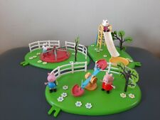 Peppa pig playground set With Figure