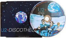 U2 CD Discotheque 4 TRACK UK PICTURE DISC 1997 REMIXES - Morales Osbourne HowieB