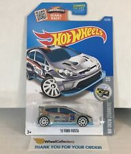 '12 Ford Fiesta #157 * ZAMAC * 2016 Hot Wheels * WG11