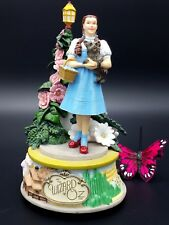 San Francisco Music Box Company OZ Dorthy Toto We're off to see the Wizard of Oz