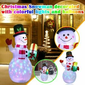 Christmas Inflatable Snowman Lantern Luminous Indoor And Outdoor Decoration 1.5m