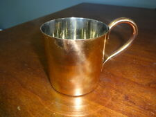 Copper Mug with Nickel Lining - 12 ounce Cup - No Moscow Mule Logo