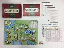 GRAPEVINE THE WINE TRADERS BOARD GAME GAMES WORKSHOP COLEMAN'S UNPUNCHED 1980
