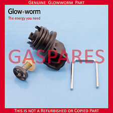 Glowworm Gas Válvula de derivación de Repuesto Asamblea parte no S801202 Nuevo Genuino