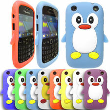 Blackberry Curve 9320 Cute Penguin Silicone Soft Phone Case Cover