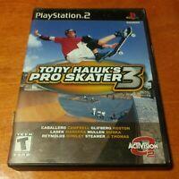Tony Hawk's Pro Skater 3 Sony PlayStation 2 PS2 Activision  Neversoft  Dolby
