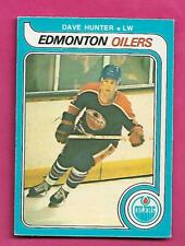 1979-80 OPC # 387 OILERS DAVE HUNTER  ROOKIE EX+  CARD (INV# D1198)