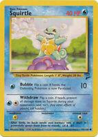 Squirtle Common Pokemon Card Original Base-2 Set Series 93/130