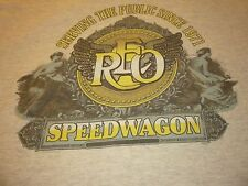 Reo Speedwagon 25Th Anniversary Vintage Shirt ( Used Size Xl ) Good Condition!