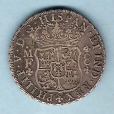 Mexico. 1736-MF 8 Reales - Pillar Dollar..  Several chopmarks..  VF
