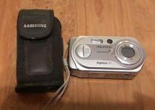 Samsung Digimax A7 7.0MP Digital Camera - Silver