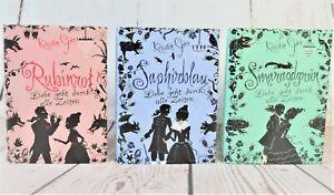 Kerstin Gier Rubinrot Saphirblau Smaragdgrün Edelstein Trilogie 3 Bücher