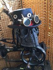 Steampunk Concho Bowler Hat Goggles Dieselpunk Gothic Retro Cosplay feeanddave