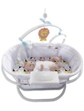 NWT Fisher-Price Soothing Motions Infant Bassinet Dpv72