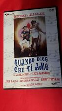 film in DVD - QUANDO DICO CHE TI AMO  -  1967  . comm  musicale RARISSIMO