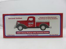 Sentry Hardware 1937 CHEVY PICKUP WITH TONNEAU COVER BANK Die-Cast Metal NEW