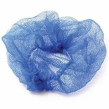 100 x Blue Mesh Hair nets one size fits all, for catering outlets restaurants
