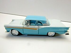 Arko Products 1:32 Scale Die Cast Model 1957 Ford Skyliner - Grey / Light Blue
