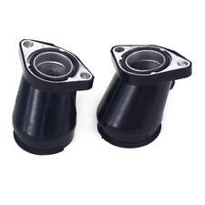 2X Carburetor Carb Intake Manifold Boot Pipe For Honda Rebel CA250 CMX250