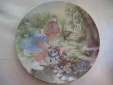 "BEAUTIFUL ""STOP & SMELL THE ROSES"" PLATE BY RUSTY MONEY, HAND SIGNED BY RUSTY"