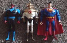Justice League Unlimited-Aztek, Sinestro, Superman-como Nuevo, Raro DC