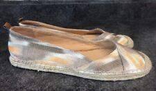 Naturalizer Sailor Espadrille Flat Gold Brown- Women's Size 9 - New