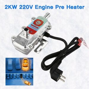 2000W 220V Truck Truck SUV Engine Coolant Heater Preheater Air Parking Heating