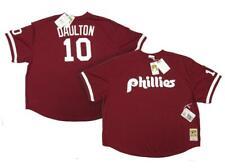 1991 Darren Daulton Phillies Mens 5XL 64 Mitchell & Ness Authentic Red Jersey