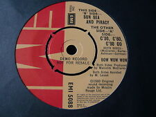 "BOW WOW WOW...C'30 C'60 C'90 GO...DEMO RECORD COPY...MINTY 7"" 45 RPM SINGLE"