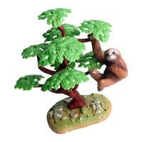 Mini Ficus Tree Micro Landscape Decor Model for Your Dollhouse Garden Props