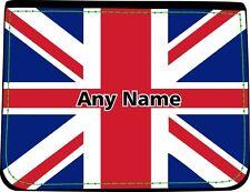 Personalizzata bandiera Union Jack Stampa Portafoglio da uomo in finta pelle compleanno regalo di Natale