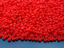 250g 9408 Opaque Red Miyuki Japanese Seed Beads Round Size 8/0 3mm WHOLESALE