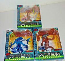 alien resurrection figures ripley, aqua alien, warrior alien new kenner 1997
