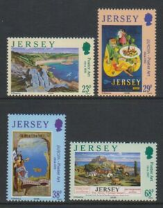 Jersey - 2003, Europa, Travel Posters set - MNH - SG 1082/5