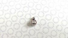 Genuino 925 plata encanto de Perfume 3D NO5 encaja pulsera de abalorios europeos