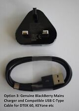 Genuine BlackBerry Wall Charger & Micro USB Cable for Various Mobile PHONES
