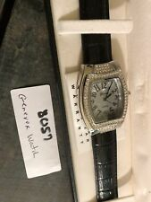 New Old Stock, Genevex Watch, Black Band.