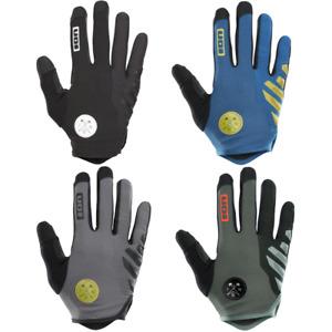 ION Scrub AMP Gloves 2021 MTB Mountain Bike Full Finger Protection Enduro DH New