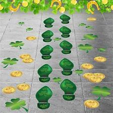Colonel Pickles Novelties Leprechaun Footprint – Floor Decals 184 Ct - St