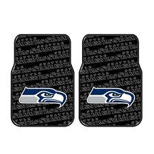 Brand New NFL Seattle Seahawks Car Truck Front Rubber Floor Mats 2pcs Set